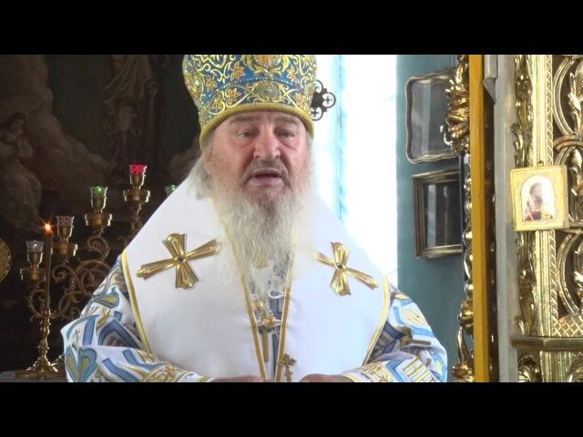 Проповедь митрополита Феофана в КазПДС (01.09.2015)