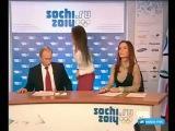 Девушка отсосала у Путина в прямом эфире))