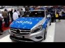 Polizei Mercedes-Benz A-Klasse (W176) Brabus B25