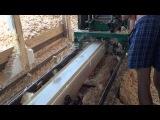 Процесс производства профилированного бруса.СоснаКедр
