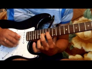 Iron Maiden - Prodigal son (guitar solo cover)