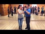 Алексей Алексенцев мастер-класс по сальсе (Таганрог 18.04.15)