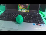 Лизун-чистилка липучка для клавиатуры. Jelly Clean Keyboard. Slimer