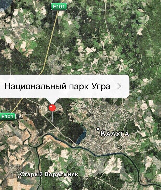 Площадь границ