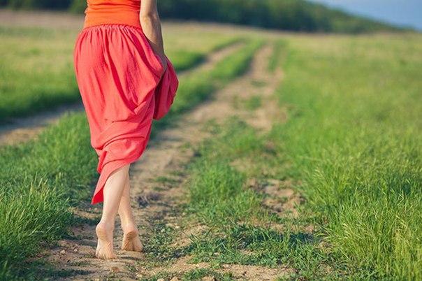 7 Причин Ходить Босиком