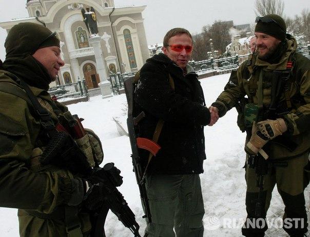 Иван Охлобыстин приехал в Донецк с дружественным визитом