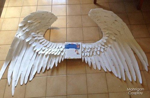 Как сделать крылья