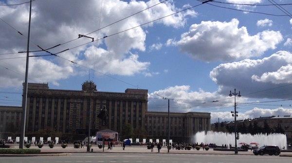 Победный салют в Санкт-Петербурге