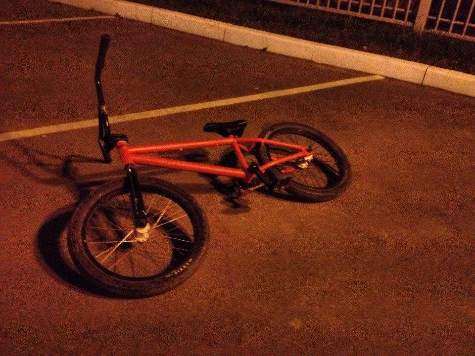 Украли велосипед!
