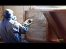 Утепление пенополиуретаном стен и пола в доме