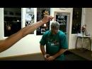 Steve Petrosino chugs a beer in 0.18 sec