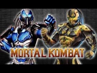 MK9:Cyber Sub-Zero VS Cyrax! Mortal Kombat 9 Online Fights
