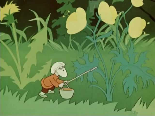 Сказка про чужие краски, 1962