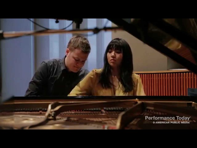 Anderson Roe Piano Duo: Papageno from The Magic Flute on Performance Today