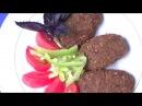 Котлеты без мяса овсяные постные веганские