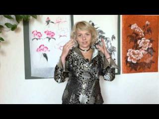 ПИОН в стиле китайской живописи. Обучающий видео-урок с Натали Котовой (анонс)