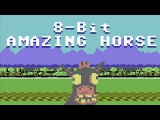 8 Bit Amazing Horse animated music video MrWeebl