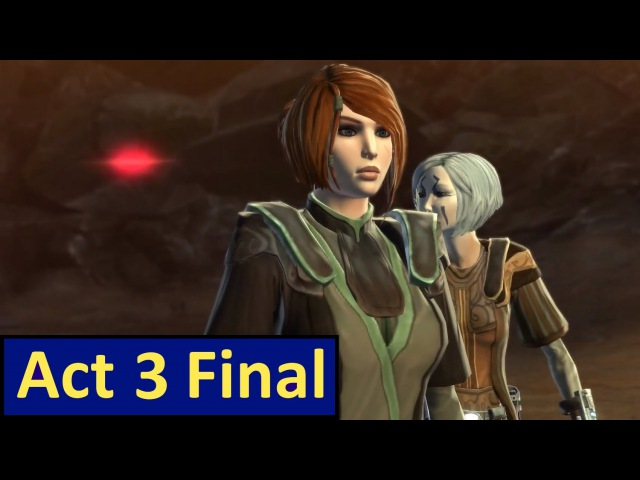 SWTOR Jedi Consular Story Act 3 FINAL The First Son