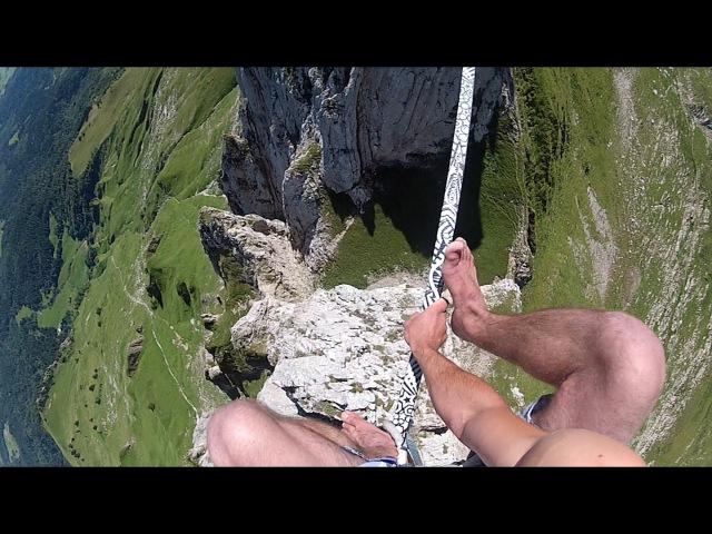 Slackline-Tutorial Chongo-Mount