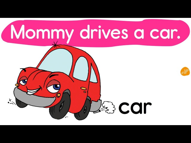 Street Vehicles and Transportation - Vocabulary Words and Phrases (1) by ELF Learning