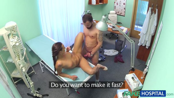 Fake Hospital E165 – Brunette In Tight Fit Nurse Outfit Fucks Her Patient