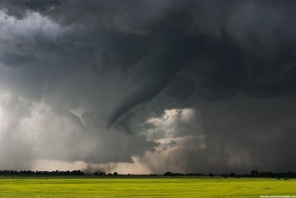 Торнадо в штате канзас