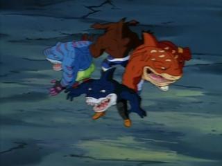 Уличные Акулы 1 серия / Street Sharks Episode 1 (1994 - 1995) Наживка для акул