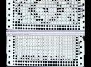 Машинное вязание. Создание перфокарты для прессового узора.