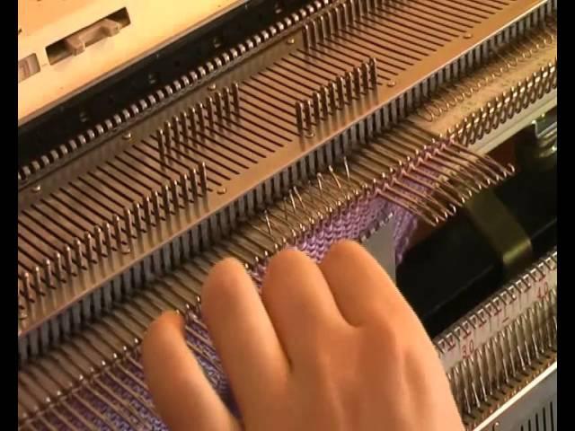 Машинное вязание - Вязание носков