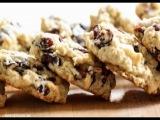 Овсяное печенье с клюквой. Простые рецепты