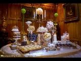 Вот такой торжественный Candy Bar цвета шампанского,ванили и шоколада мы можем сделать на любой Ваш праздник. Удивите своих гостей.