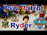 Щенячий патруль игрушка Зак Райдер из серии  Paw Patrol action pack and badge
