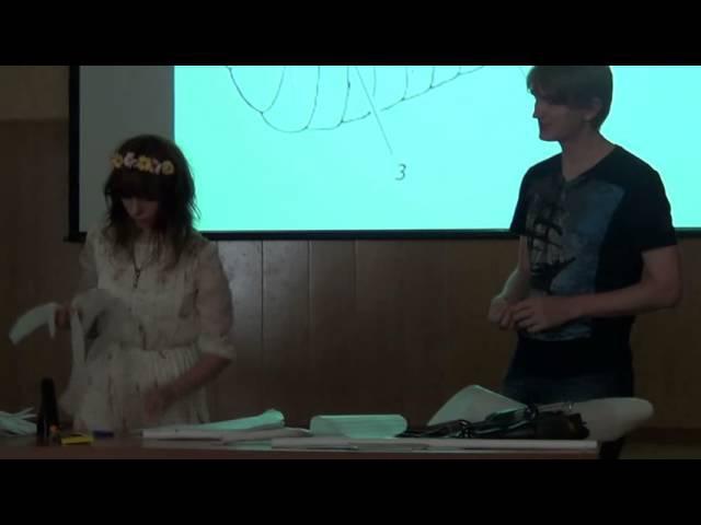 Мастер-класс по изготовлению крыльев из изолона (часть 1)