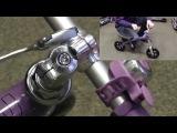 Ругулировка высоты руля беговел Micro G-Bike