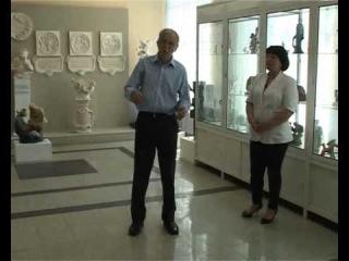 Выставка выпускника ГГХПИ, скульптора Логвина Ю А