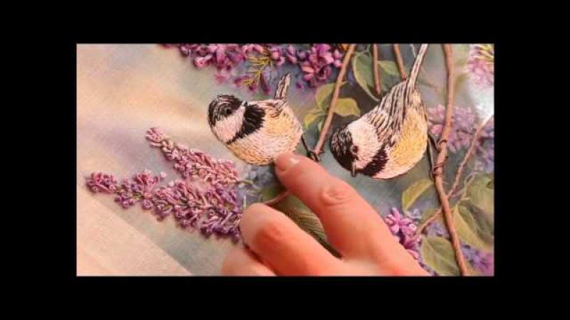 Утяжка Птичек. Как создавать объёмные элементы.