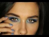 Все оттенки Голубого / Макияж в голубых тонах