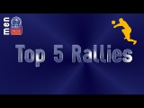 Stars in Motion: Top 5 Most Amazing Rallies - Volleyball Champions League Men - Playoffs 12 Leg 1