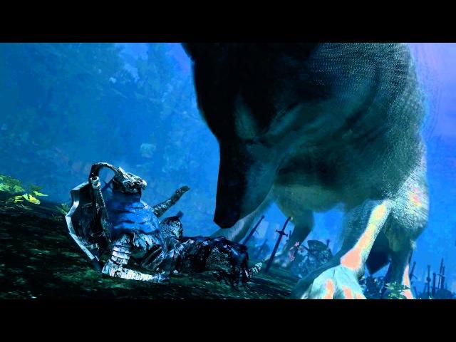 Dark Souls: Prepare to Die Edition Great Grey Wolf Sif Alternate Cutscene 1080P
