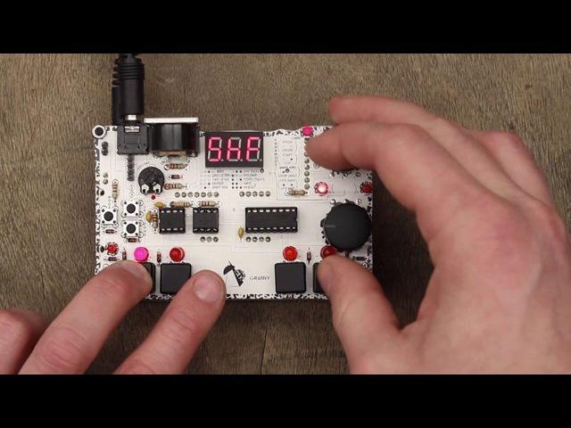 MicroGranny - pocket-sized handmade granular sampler