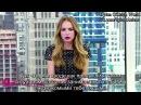 Интервью / Бритт Робертсон о съемках сексуальных сцен с другими актерами (2015)