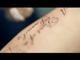 Как делают татуировку. Красивое видео