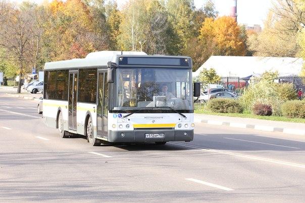 движения автобусов по