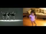Маленькая девочка танцует как Beyonce (Бьонс, Бейонс)
