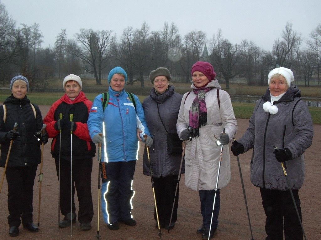 Группа «Возрождение» Спортивное мероприятие по скандинавской ходьбе 05 декабря 2014