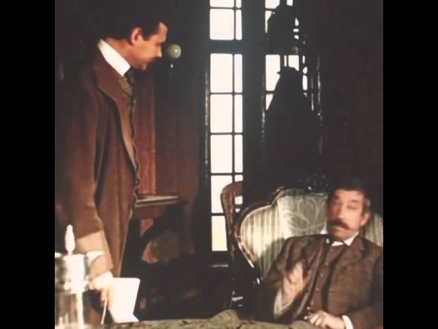 Эпизод из фильма Приключения Шерлока Холмса и доктора Ватсона: Сокровища Агры