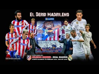 Atletico Madrid vs Real Madrid UCL 1/4 Final [2015] Promo