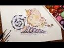 Speed Painting Seashells Watercolor IOTN