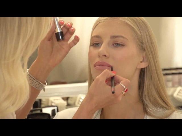 Тренды от Avon- макияж в стиле нюд с Мариной Борщевской avonpeter.ru/
