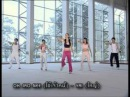 Aerobic danz up and down